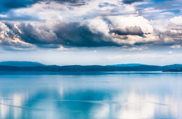 Trasimeno lake, Umbria, Italy.