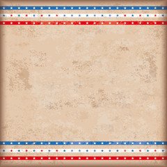 Vintage Background USA Double Star Stripes