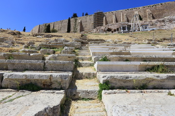 Theatre of Dionysus, Athens, Greece