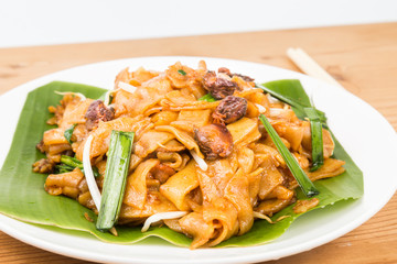 No frills simple Chinese Char Kway Teow or Fried Noodle
