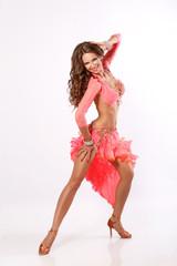 dancer woman latino