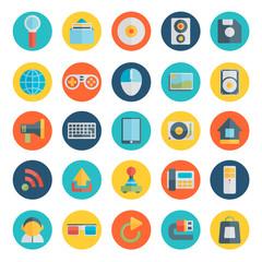 Modern flat icons — set 1