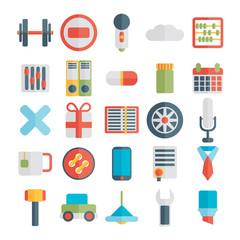 Modern flat icons — set 4