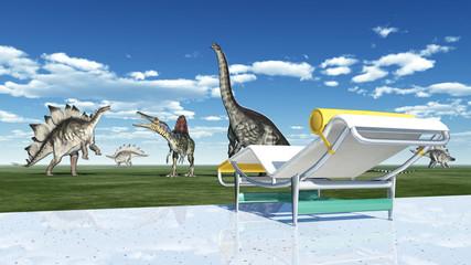 Der Park der Dinosaurier