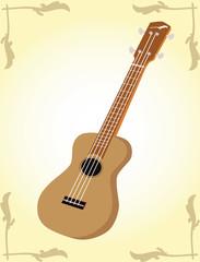 ukulele vector