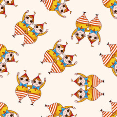 alice in wonderland , cartoon seamless pattern background