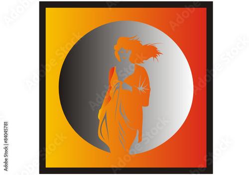 sternzeichen jungfrau stockfotos und lizenzfreie vektoren auf bild 84045781. Black Bedroom Furniture Sets. Home Design Ideas