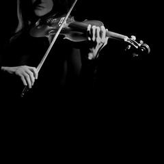 Violin player violinist hands