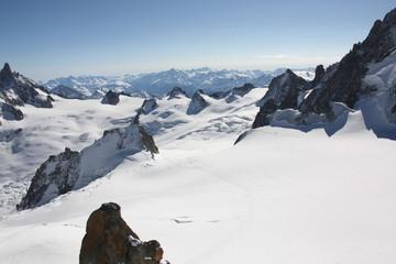 Горнолыжный курорт. Shamonix Mont Blank Alpes