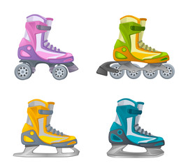 Set of skates