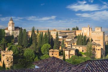 alhambra fort spain