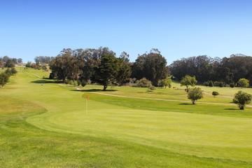 Golf course in California