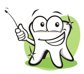 Funny tooth pointing advices