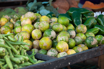 Fresh Lime for Sale in the Market