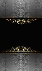 Black invitation 3