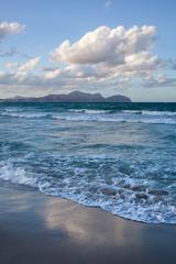 Beach on Mallorca, Can Picafort