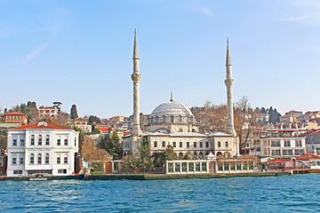 Beylerbeyi Mosque or Hamidi Evvel Mosque in Istanbul, Turkey