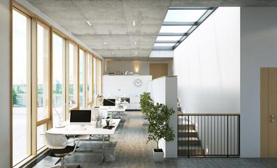 Modernes Loft Büro
