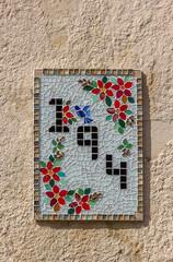 Mosaico e número