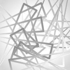 Abstract graysale image of triangle shapes. Vector.