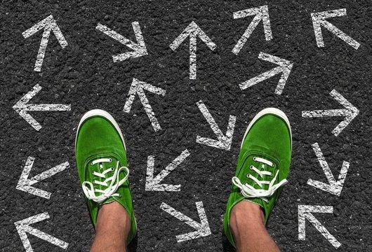 Welche Richtung nehmen?