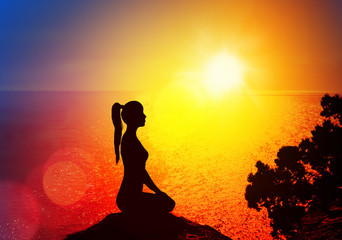 Yoga and meditation.