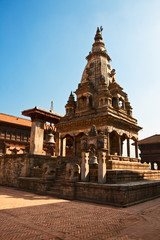 Temple on Bhaktapur
