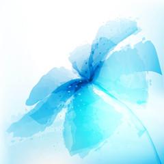 Obraz kwiat tło wektor - fototapety do salonu