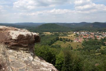 Drachenfels-Schloss in Deutschland