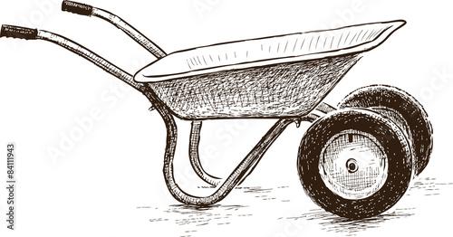 """wheelbarrow and ..."
