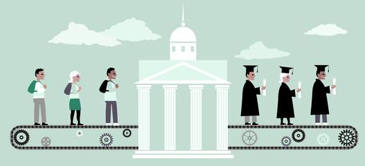 Higher education machine