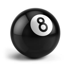 Billiard Snooker eight ball