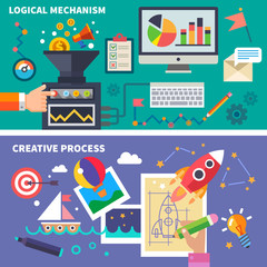Logical and the creative process