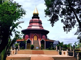 buddhist pagoda building