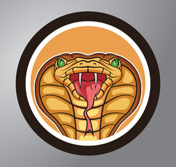 Cobra Circle sticker