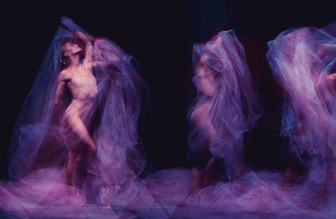 photo as art - a sensual and emotional dance of beautiful