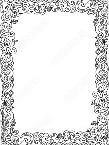 Frame Zentangle Stock Photo And Royalty Free Images On Fotolia
