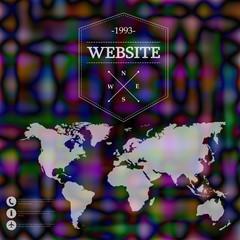Corporate website design.