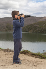 Young photographer, Spain