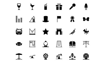 Carnival Vector Icons 4