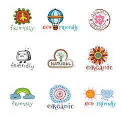 Eco design elements.