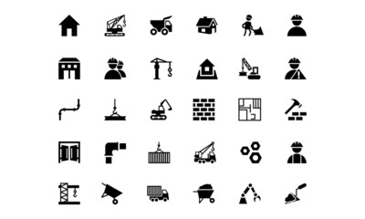 Construction Vector Icons 1