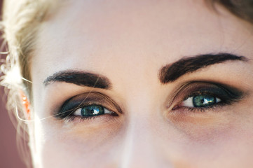 Occhi smeraldo