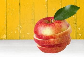 Apple, Fruit, Portion.