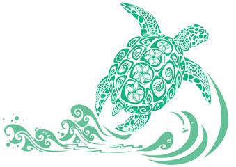 Geen turtle