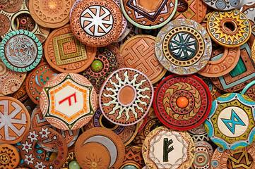 Ethnic Clay Beading Jewelry
