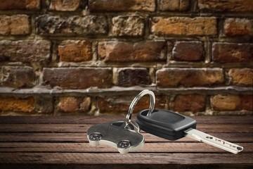 Car, Key, Key Ring.