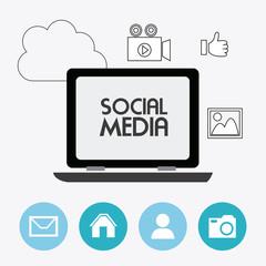 Social media design.