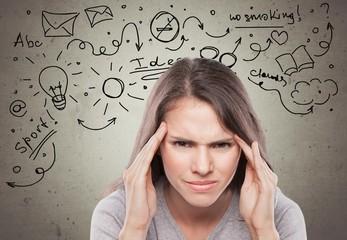 Headache, Women, Emotional Stress.