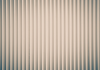 White corrugated metal background seamless and texture surface..
